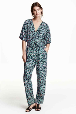 H&M - Patterned Jumpsuit