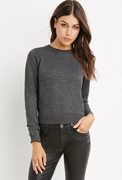 Forever 21 - Contemporary Classic Heathered Sweater