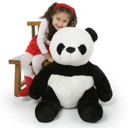Giant Teddy - Mama Xin Huggable Stuffed Panda Teddy Bear