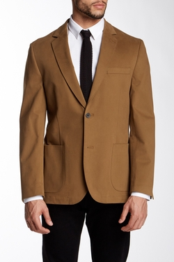 FLYNT  - Brushed Peak Lapel Blazer