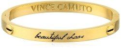 "Vince Camuto  - Gold-Tone ""Beautiful Chaos"" Hinge Bangle Bracelet"