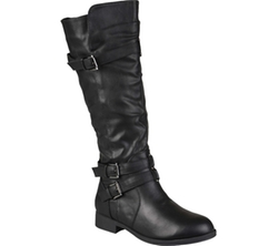 Journee Collection - Tiffany Slouch Low-Wedge Boots