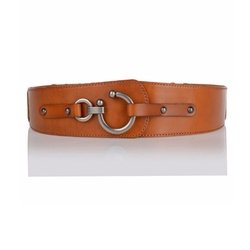 Fajarina - Cowhide Leather Belt
