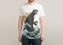 Threadless - The Great Monster Off Kanagawa T-Shirt