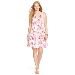 Ralph Lauren - Floral V-Neck Dress