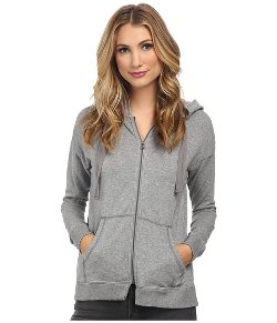 Mod-O-Doc  - Cotton Modal Fleece Boxy Drop Shoulder Zip Jacket