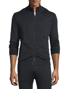 Ermenegildo Zegna  - Full-Zip Jersey Track Jacket