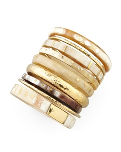 Ashley Pittman - Nene Horn & Bronze Bangles