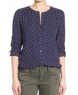 Hinge - Floral Print Shirt