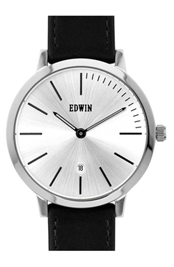 Edwin - Kenny Leather Strap Watch