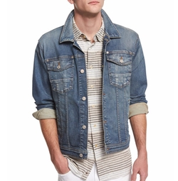 7 For All Mankind - Trucker Light Wash Jean Jacket