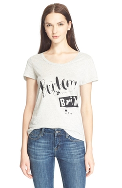 Burberry Brit  - Logo Graphic Tee