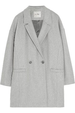 American Vintage - Grayson Oversized Wool Blend Coat