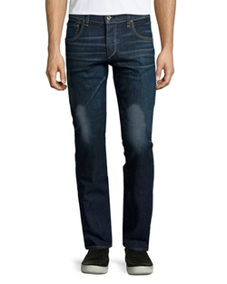 Rag & Bone  - Slim-Fit Dark Wash Denim Jeans