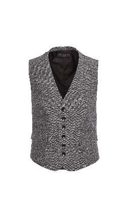 Rag & Bone  - Grosvenor Melange Waistcoat