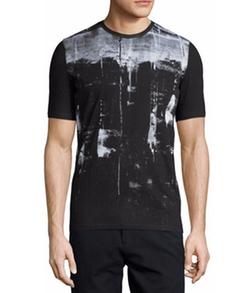 Helmut Lang - Transverse-Print Short-Sleeve T-Shirt