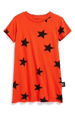 Nununu  - Star Print T-Shirt Dress