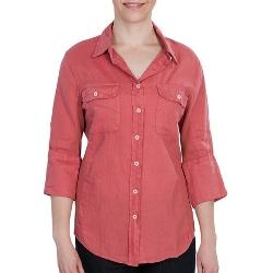 Dylan  - 3/4 Sleeve Vintage Linen Shirt