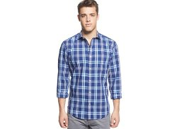 Tommy Hilfiger  - Big And Tall Non-Iron Dillird Plaid Shirt
