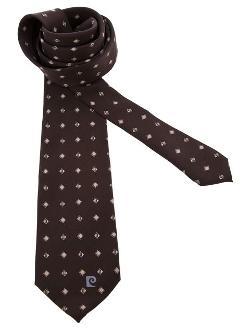 Pierre Cardin Vintage - Diamond And Wave Print Tie