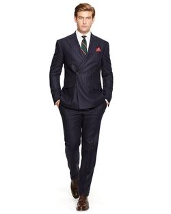 Ralph Lauren - Polo Striped Flannel DB Suit