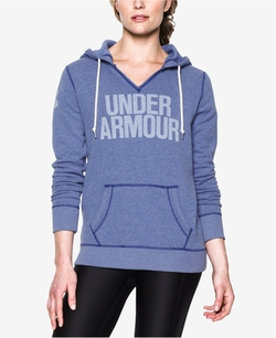 Under Armour - Favorite Fleece Logo Pullover Hoodie