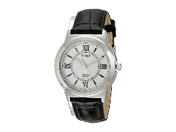 Timex  - Main Street Dress Leather Strap Watch
