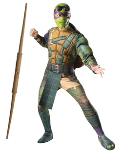 Blockbuster Costumes Custom Bundle - Teenage Mutant Ninja Turtles  Donatello Costume