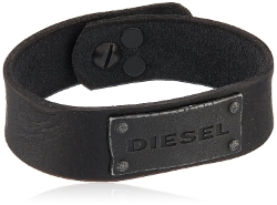 Diesel - Leather Cuff Bracelet