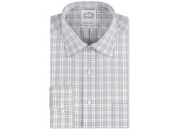Eagle - Slim-Fit Grey Check Dress Shirt