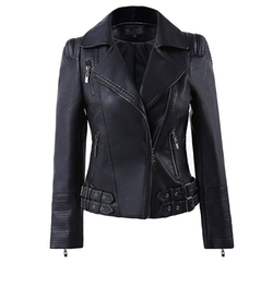 Benibos - Faux Leather Biker Jacket