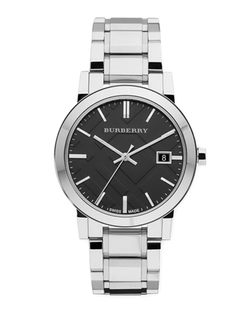 Burberry	 - Sunray Stainless Steel Watch