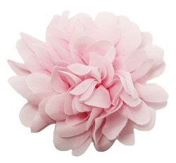 Dress Up Dreams Boutique - Chiffon Fabric Flower Hair Clip