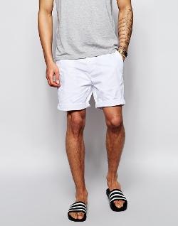 Asos - Mid Length Chino Shorts
