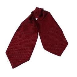 Epoint - Polka Dots Silk Ascot Tie