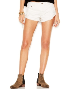 Free People - Cut-Off Jean Shorts