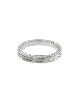 Cathy Waterman - Triple Milgrain Ring