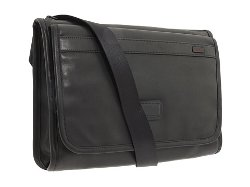 Tumi Alpha  - Leather Flap Zip Cross Body Messenger Bag