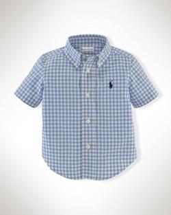 Ralph Lauren - Gingham Cotton Blake Shirt