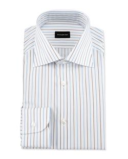 Ermenegildo Zegna  - Alternating Striped Dress Shirt