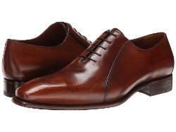 A. Testoni  - Washed Calf Oxford Shoes