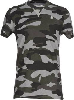 Hydrogen - Camo Print T-Shirts