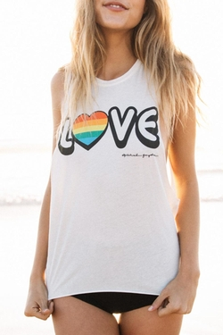 Spiritugal Gangster - Love Coachella Tank Top