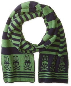 Psycho Bunny - Knitted Stripe Scarf