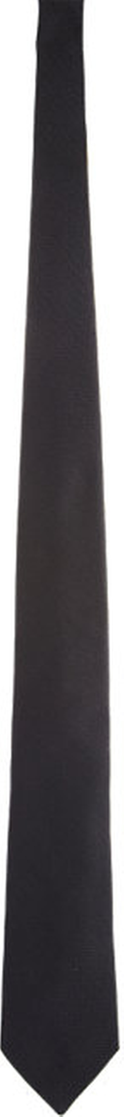 Barneys  New York - Black Textured Silk Tie