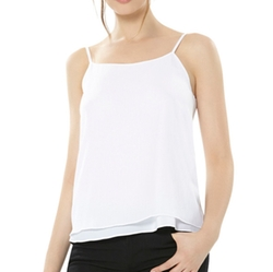Alice And Olivia - Loose Crinkle Tank Top