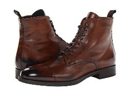 To Boot New York  - Stallworth Leather Lace-up Boots