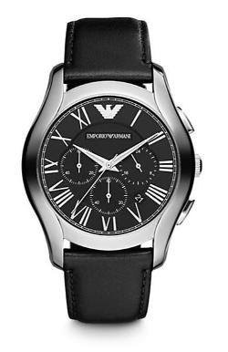 Emporio Armani - Scuderia Stainless Steel Chronograph Watch