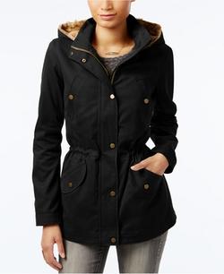 Celebrity Pink - Fur Hooded Jacket