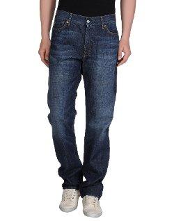 7 For All Mankind  - Straight Leg Denim Pants